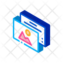 Color Pictures Polygraphy Icon