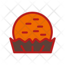 Pie Meal Bread Icon