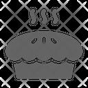 Pie Bakery Pastry Icon