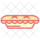 Pie Cake Desserts Icon