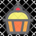 Pie Cupcake Food Icon