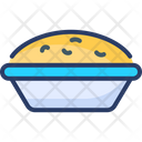 Pie Cookie Bakery Food Icon