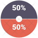 Pie Chart Infographics Icon