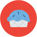 Pie Baked Cupcake Icon