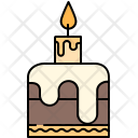 Small Birthday Cake Icon