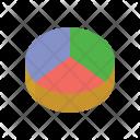 Shares Graph Analysis Icon