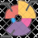 Pie Chart Circle Chart Modern Chart Icon