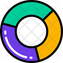 Pie Chart Data Information Icon