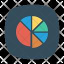Pie Chart Analyst Chart Icon