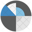 Starfish Pie Chart Chart Icon