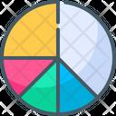 Pie Chart Graph Analytics Icon