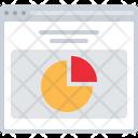 Pie Chart Analysis Analytics Icon