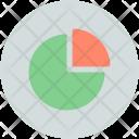 Pie Chart Circular Infographic Icon