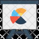 Pie Chart Analytics Presentation Icon