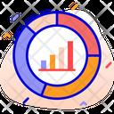 Pie Chart Bar Chart Progress Icon