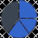 Pie Analysis Graph Icon