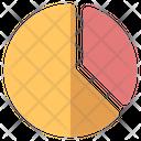Pie Chart Commerce Icon
