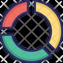 Analytics Competitive Pie Chart Icon