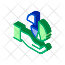 Doodle Business Hand Icon