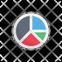 Piechart Graph Report Icon