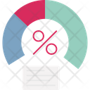 Chart Graph Meter Icon