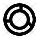 Diagram Partition Usage Icon