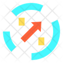 Chat Growth Research Icon