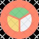 Pie Chart Statistics Circular Icon