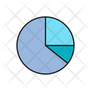 Pie Chart Market Share Report Icon