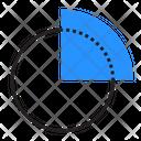 Chart Diagram Round Icon