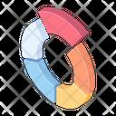 Circle Chart Statistics Diagram Icon