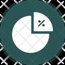 Pie Chart Percentage Diagram Icon