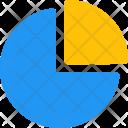 Pie Chart Quarter Infographic Icon