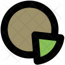 Pie Chart Circle Icon