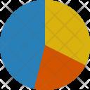 Pie Chart Analystic Icon
