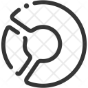 Pie Chart Analytics Icon