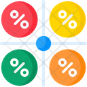 Pie Chart Comparison Icon
