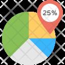 Business Analytics Chart Icon