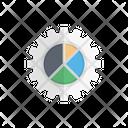 Pie Chart Setting Icon