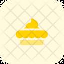 Pie Cream Icon