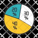 Pie Diagram Pie Share Icon