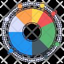 Pie Graph Circle Chart Data Analytics Icon