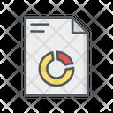 Pie Graph Business Analysis Icon