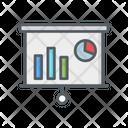 Pie Graph Statistics Business Icon
