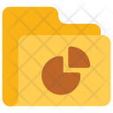 Pie Graph Folder Icon