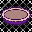 Pie Plate Kitchen Household Icon
