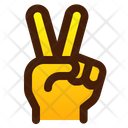 Piece Two Finger Icon