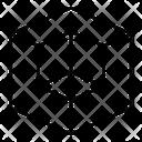 Piece Block Cube Icon