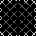 Piece Box Cube Icon