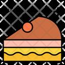 Pastry Piece Of Cake Dessert Icon
